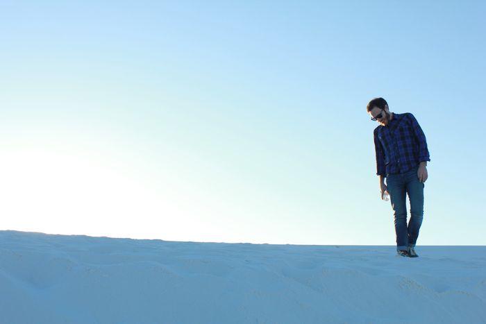 James in desert 2