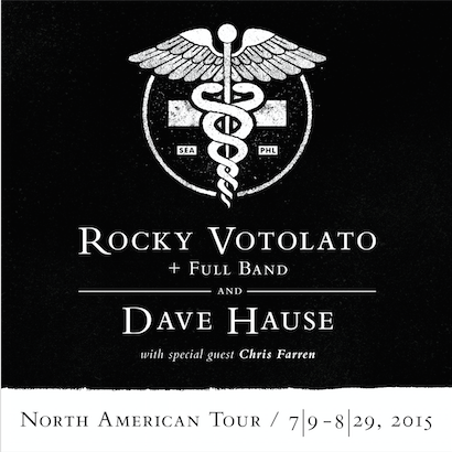 Rocky Votolato / Dave Hause / Chris Farren Announce North American Tour