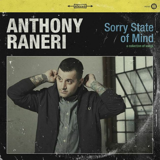 Anthony Raneri (of Bayside) Announces US Tour w/ What's Eating Gilbert, Laura Stevenson and Allison Weiss