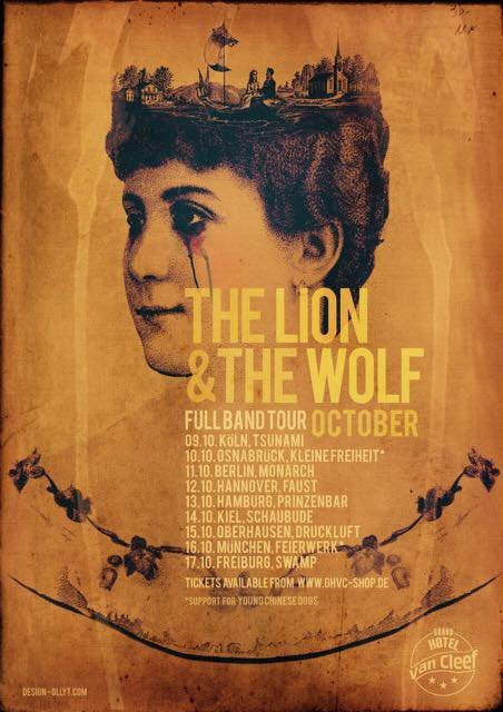 The Lion And The Wolf Announces German Full-Band Tour