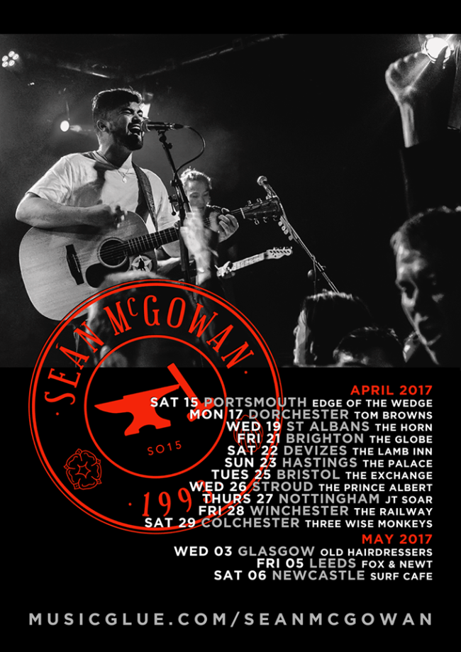 Sean McGowan Announces UK Headline Tour