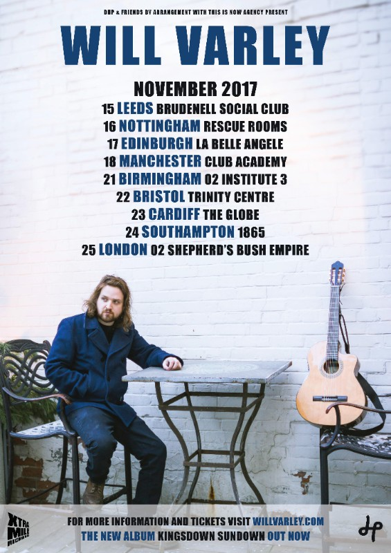 Will Varley Announces November UK Tour
