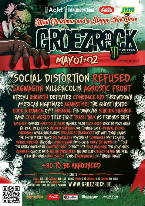 Groezrock Adds Mineral, Masked Intruder, The Hotelier & More To 2015 Lineup