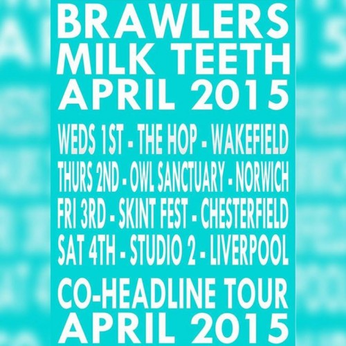 Milk Teeth & Brawlers Announce Co-Headline Gigs