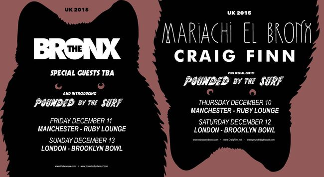 The Bronx / Mariachi El Bronx Announce December Shows In London And Manchester
