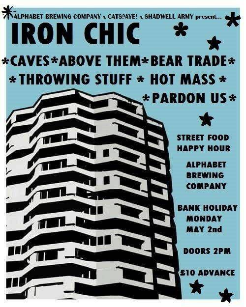 Iron Chic To Headline Manchester Brewery All-Dayer w/ Caves, Above Them, Throwing Stuff & More!