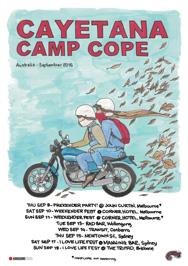 Cayetana and Camp Cope Announce Australian Tour