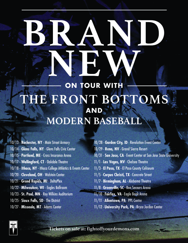 Brand New Announce US Tour w/ The Front Bottoms & Modern Baseball