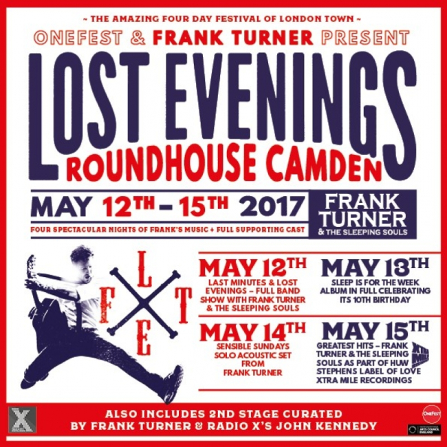 Frank Turner Adds Brian Fallon & The Crowes, Scott Hutchinson (Frightened Rabbit), Seth Lakeman & More to 'Lost Evenings'