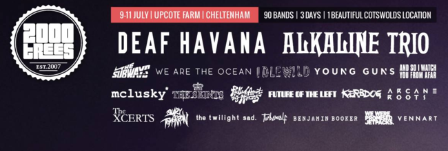 Top 5: Bands To Watch At 2000Trees Festival 2015