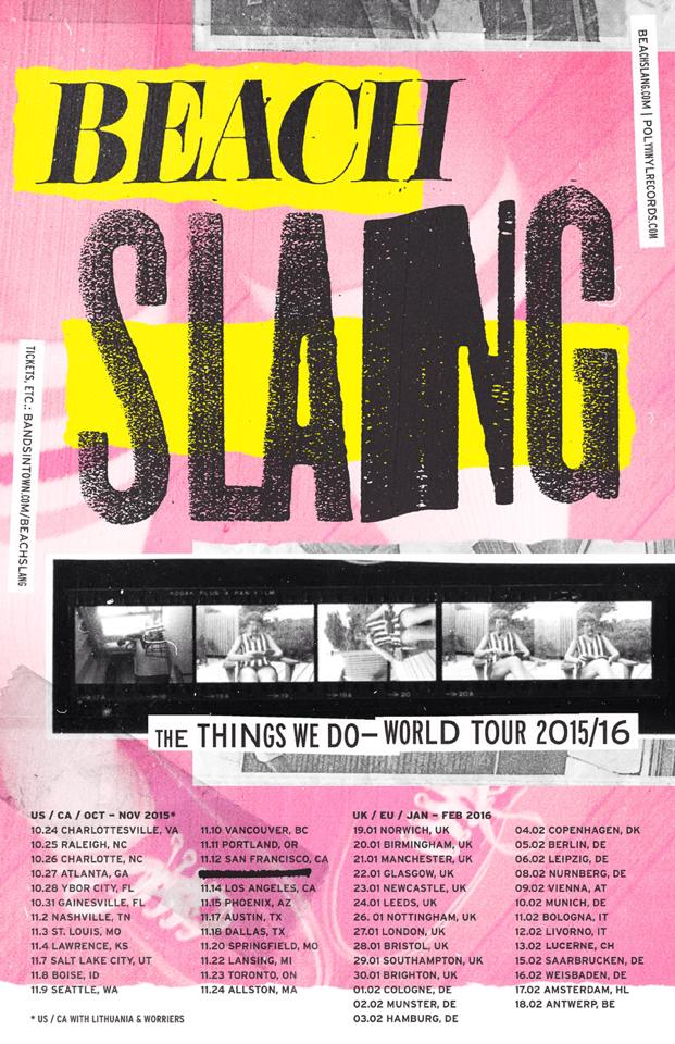 Beach Slang To Tour UK/Europe In January