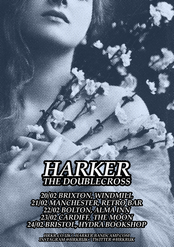 Harker and The Doublecross Announce February UK Tour