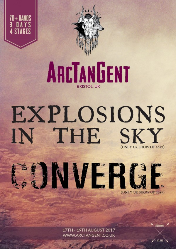 Converge and Explosions in The Sky Announced For ArcTanGent Festival 2017