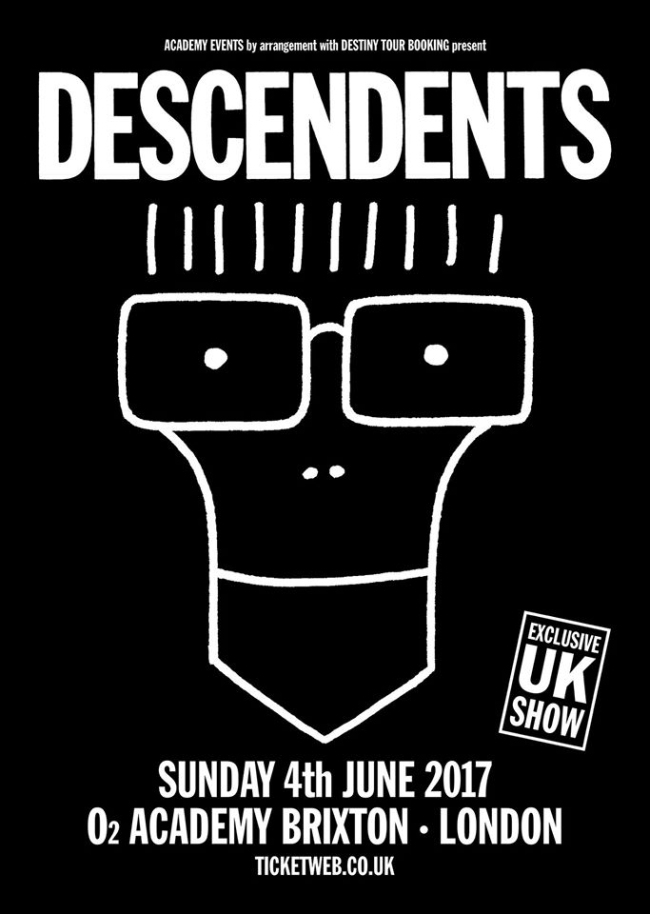 Descendents Announce UK Exclusive Show at Brixton Academy