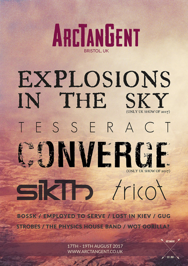 Tesseract, Sikth, Tricot, Wot Gorilla? And More Added To ArcTanGent 2017