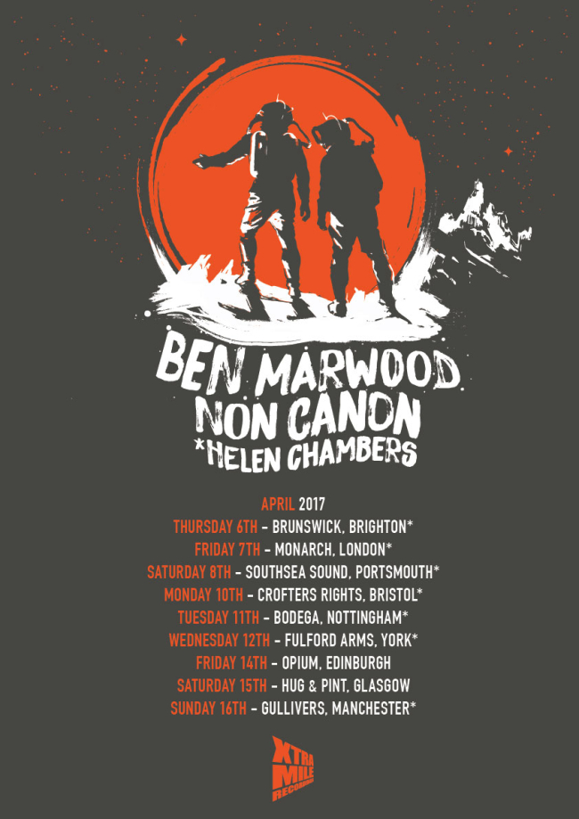 PSA: Ben Marwood UK Tour Starts This Week w/ Non Canon and Helen Chambers