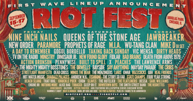 Jawbreaker To Reunite For Riot Fest 2017 (Oh, There's Other Bands Too!)